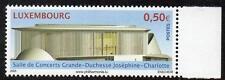 Luxembourg neuf sans charnière 2005 grande duchesse Josephine Charlotte concert hall