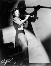 8x10 Print Ann Dupont Clarinet Player Swing Band Leader 1940 #AD01