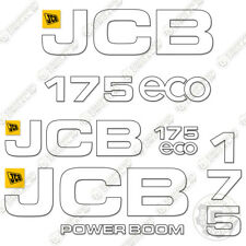 Jcb 175 Decal Kit Skid Steer Replacement Stickers Heavy Equipment Decals