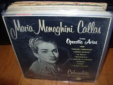 CALLAS  sings operatic arias ( classical ) columbia 33cx 1231