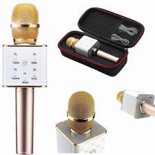 Microfono karaoke altoparlante ORO wireless bluetooth cassa integrata batteria