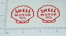 Metalcraft Shell Delivery Truck Sticker Set      MC-011