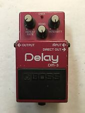 Boss Roland DM-3 Analog Delay Rare Vintage 1984 Guitar Effect Pedal MIJ Japan