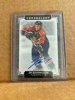 2019-20 UD CHRONOLOGY JAY BOUWMEESTER ON CARD AUTO FLORIDA PANTHERS