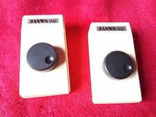 Sanwa 9012 two 2 x controllers color video game