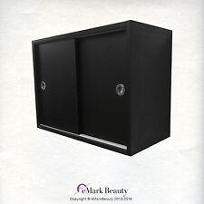 UPPER SHAMPOO BOWL BLACK CABINET TOWEL STORAGE TLC-TCSLIDING