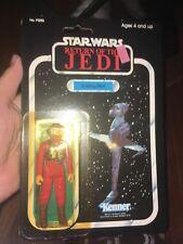 VINTAGE STAR WARS B-WING PILOT MOC 77 BACK KENNER ROTJ 1983 Return Of The Jedi