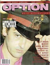 OPTION Magazine 22- Sept. 1988 (robyn Hitchcock, Billy Bragg, Mekons, Sugarcubes