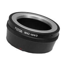 M42 Mount lens to Micro 4/3 M4/3 Adapter Ring for EM5 EM10 EM1 EPL7 GF7 GF6