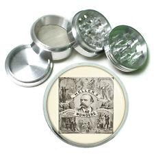 """Vintage Magic Magician D6 Aluminum Herb Grinder 2.5"""" 63mm 4 Piece"""