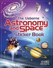 Astronomy & Space Sticker Book Paperback Emily Bome & Hazel Maskell Usborne