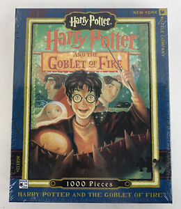 Harry Potter And The Goblet Of Fire 1000 Piece Puzzle New York Puzzle Company