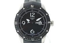 NWOT Men's Tissot T-Navigator Automatic T0624301705700 Black Dial Rubber Watch