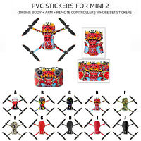 Waterproof PVC Stickers Decal Skin Cover Protector For DJI MAVIC Mini 2 RC Drone