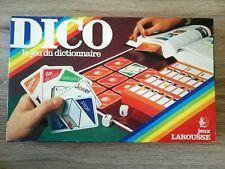 DICO - Le jeu du Dictionnaire Larousse - jeux de société vintage
