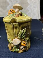 george z lefton jelly jar with mushrooms