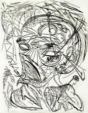 "DDR-arte. ""Karl"", 1986. acquaforte Osmar Oriente (B. Münzner * 1959 D) firmato a mano"