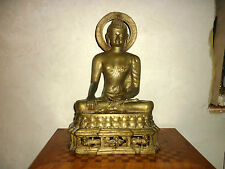 bronze  bouddha buddha 43 cm divinité  sino tibétain Thai chin XIX antique 19th