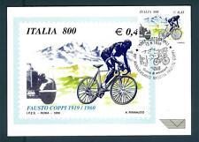 ITALIA REP. - 1999 - 80º anniversario della nascita di Fausto Coppi su maximum