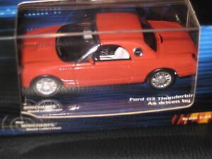 1/43 MINICHAMPS JAMES BOND  007 FORD 03 THUNDERBIRD JINX'S CAR DIE ANOTHER DAY