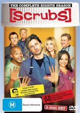 Scrubs : Season 8 (DVD, 2009, 3-Disc Set)
