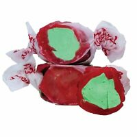 GOURMET CANDY APPLE Salt Water Taffy Candy TAFFY TOWN 1/4 LB  to 10 LB BAG