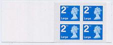 2016 4 X 2nd Grande Royal Mail Security Folleto de Cilindro de papel del forro M16L RA3