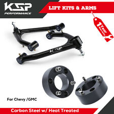 "Front Control Arm 2-4"" Lift + 3"" Front Lift Kit Spacer For GMC Chevy 2007-2014"