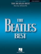 The Beatles Best 2nd Edition Sheet Music Piano Vocal Guitar Songbook N 000356223