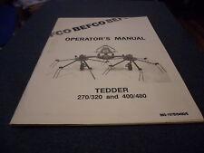 (Drawer 2) Befco Hay Tedder 270/320 400/480 Operators Manual