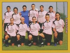 N°689 SQUADRA TEAM # RIOZZESE FEMMINILE STICKER FIGURINA PANINI CALCIATORI 2008