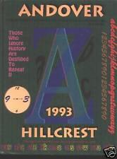 Bloomfield Hills MI Andover high school yearbook 1993 Michigan