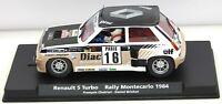 A1206 FLY Car Renault 5 Turbo Montecarlo Rally 1984 MIB 1/32 slot car 88202
