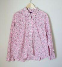 Liberty London Arts Fabric XL Pink Phoebe Tana Lawn Floral Pink Blouse Shirt