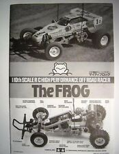 New Tamiya Frog Instructions / Build Manual 58354 (Re-Release Version)