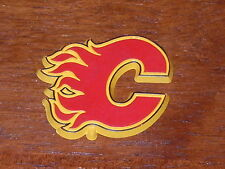 CALGARY FLAMES Vintage Old NHL RUBBER Hockey FRIDGE MAGNET Standings Board