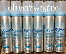 (6) ROGAINE WOMENS 5% TOPICAL FOAM MINOXIDIL 12 Month Supply CANS EXP DEC '21