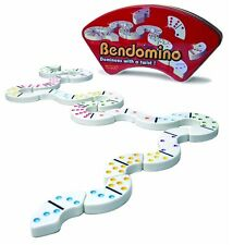 Bendomino Dominoes With a Twist Blue Orange Games 2006 VG