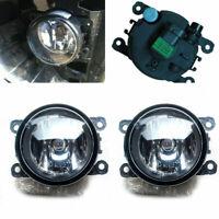 2PCS Car Accessories Drive Side Fog Light Lamp + H11 Bulbs 55w Right & Left Side