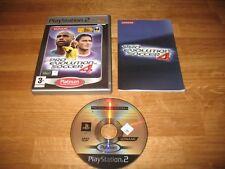 PS2 game - Pro Evolution Soccer 4 (complete PAL)