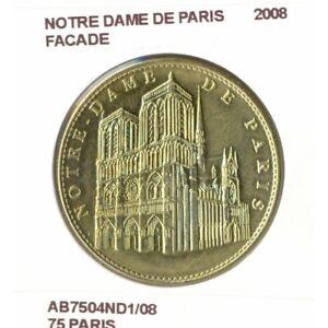 75 PARIS NOTRE DAME DE PARIS FACADE 2008 SUP-