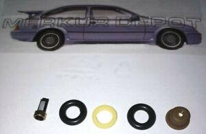 ★ NEW Merkur XR4Ti Ford 2.3 Turbo Fuel Injector Rebuild Kit Seals Filter SVO ★