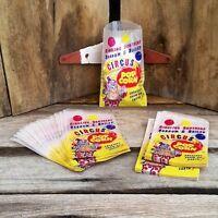 10 Vintage Original RINGLING BROS BARNUM BAILEY 1940s Circus Popcorn Bags NOS