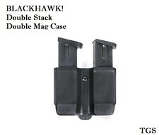 NEW BLACKHAWK! Double Stack Double Mag Case Fits 9 mm, 10mm, .40 Cal, .45 Cal