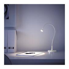Ikea Jansjo Flexible White Color Desk Table Study LED Goose Neck Lamp