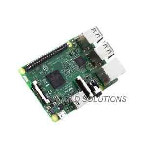 Raspberry Pi 3 Tipo B con Wi-Fi e Bluetooth Quad-core Cortex-A53 Progetti IoT