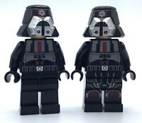 LEGO LOT OF 2 CLONE MINIFIGURES IMPERIAL PILOT STAR WARS FIGURES