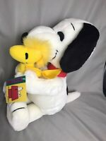 "Applause Plush SNOOPY And WOODSTOCK Peanuts Best Friends 16"" Vintage New Cond."