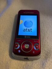 Sony Ericsson - Sony Ericsson Walkman W760A - Candy Red (AT&T) Cellular Phone