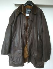 Barbour Beaufort Jacket w/ Zip Out Liner Brown A231 C42 107cm Flaws